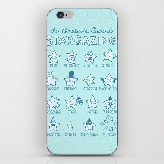 The Amateur's Guide to Stargazing iPhone & iPod Skin