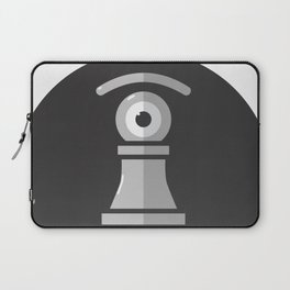 pawn's eye b&w Laptop Sleeve