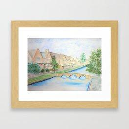 Bourton Village Framed Art Print