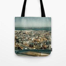 Lisbon sky view Tote Bag