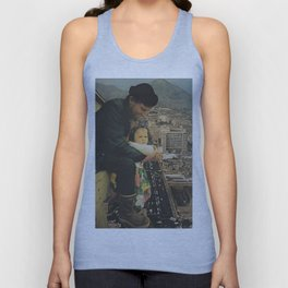 A Father, Daughter Moment Unisex Tank Top