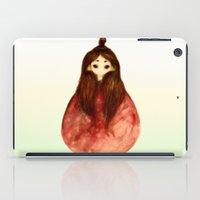 princess iPad Cases featuring Princess by Priscilla Moore