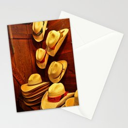 Luckenbach Hats Stationery Cards