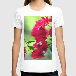 Ruby Blooms T-shirt