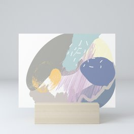 Muffin mess Mini Art Print