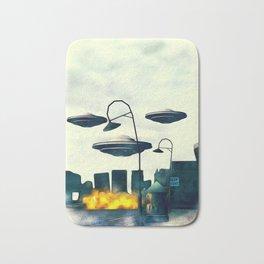 UFO Invasion Bath Mat