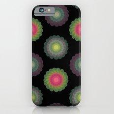 transparent floral patterns 2 Slim Case iPhone 6s