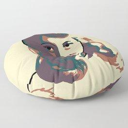 Sylvia Plath Floor Pillow