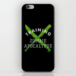 Training: Zombie Apocalypse iPhone Skin