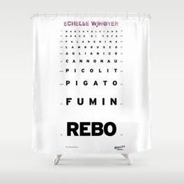 Echelle Winoyer - Italian Edition Shower Curtain