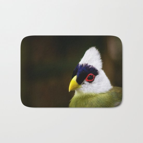 White Crested Turaco Bath Mat