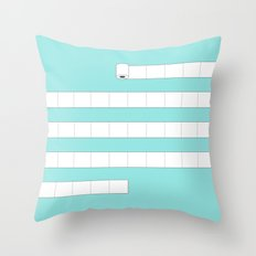 (very) Long Toilet Paper Throw Pillow