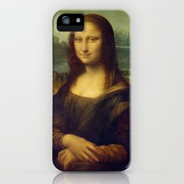 Classic Art - Mona Lisa - Leonardo da Vinci iPhone Case