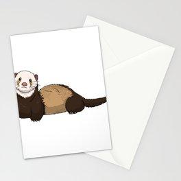 Ferret Illustration Stationery Cards