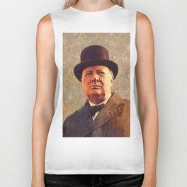 Winston Churchill, Prime Minister Biker Tank