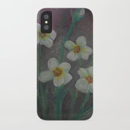 Forget-Me-Never iPhone Case