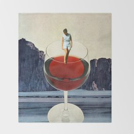 Wino Throw Blanket
