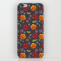 Flowers in the air iPhone & iPod Skin