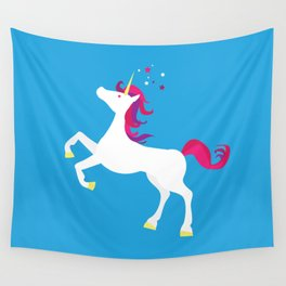 Unicorn magic Wall Tapestry
