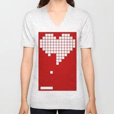 Arknoid Heart Unisex V-Neck