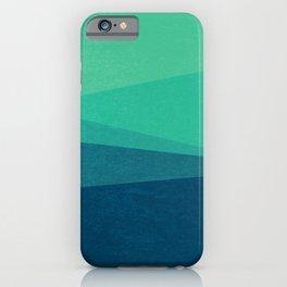 Stripe VIII Minty Fresh iPhone Case