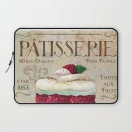French Patisserie Art, Framboisier Laptop Sleeve