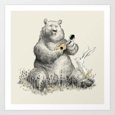 Bear Songs Art Print