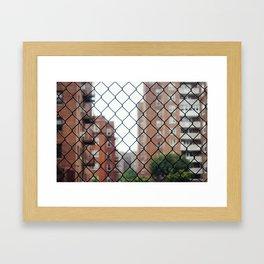 Seeing Through New York City Framed Art Print