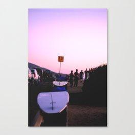 Surfboards at Sunset Cliffs Canvas Print