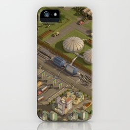 Biogas City iPhone Case