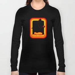 Retro Sasquatch Pacific Northwest Long Sleeve T-shirt