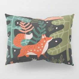 Evergreen Fox Tale Pillow Sham
