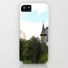 Fairytale Village - Lauterbrunnen Switzerland iPhone Case