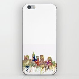 Atlanta, Georgia Skyline SG - Faded Glory iPhone Skin