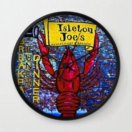 Isleton Joe Wall Clock