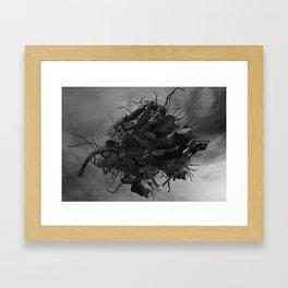 HIGH STEEL Framed Art Print