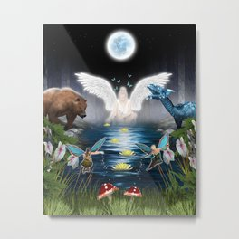Spirit World Metal Print