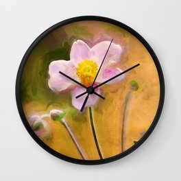 Colors of October Wall Clock