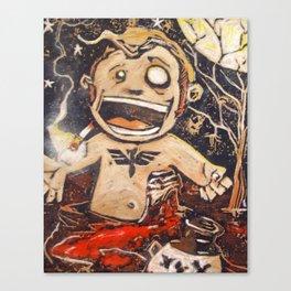 Zombie Dev Full Canvas Print