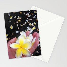 Frangipani Explosion! Stationery Cards