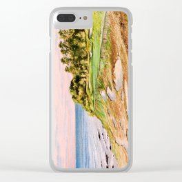 Whistling Straits Golf Course Clear iPhone Case