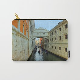 Bridge of Sighs, Venice, Italy,  in the late afternoon sun. Carry-All Pouch