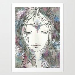 Galaxia Art Print