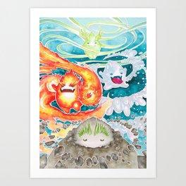 ˹Four Elements˼ Art Print
