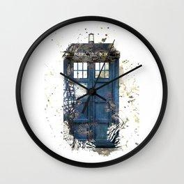 Tardis Wall Clock
