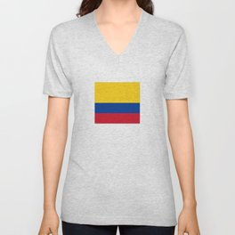 Flag of Colombia-Colombian,Bogota,Medellin,Marquez,america,south america,tropical,latine america Unisex V-Neck