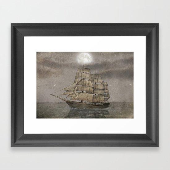 Night Journey  Framed Art Print