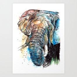 African Giant Art Print