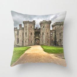 Gateway To The Castle Throw Pillow