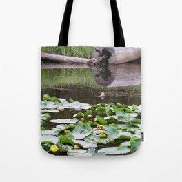 Lilypad Lake Tote Bag